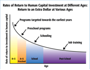 Human capital investment graphic