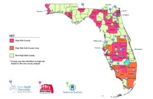 MAP: Florida Home Visiting Sites